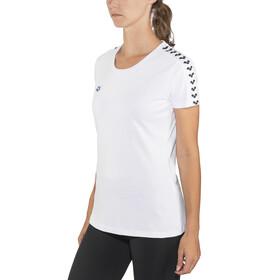 arena Team T-Shirt Women white-white-black